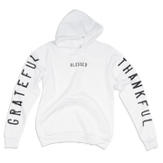 Grateful Thankful Blessed Adult Pullover