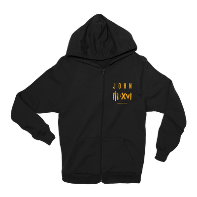 John 3:16 Hoodie - Beacon Threads - 2T / Black w/ Gold Lettering - 1