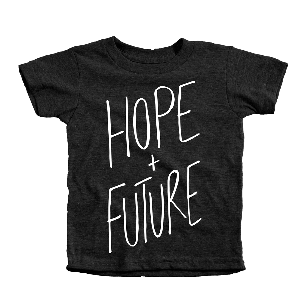 Hope & Future Infant Tees - Beacon Threads - 12-18M / Tri-Black