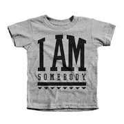I Am Somebody Tee - Beacon Threads - 2T / Grey w/ Black Lettering - 2
