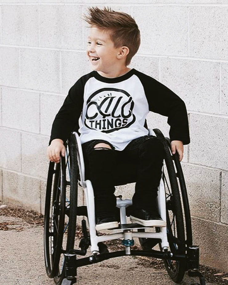 I Can Do All Things Kids Raglan