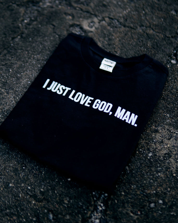 I Just Love God, Man Kids T-shirt