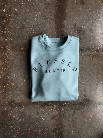 Blessed Auntie Adult Sweatshirt