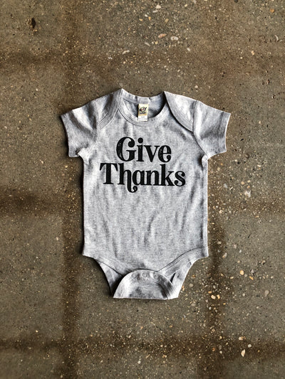 Give Thanks Onesie