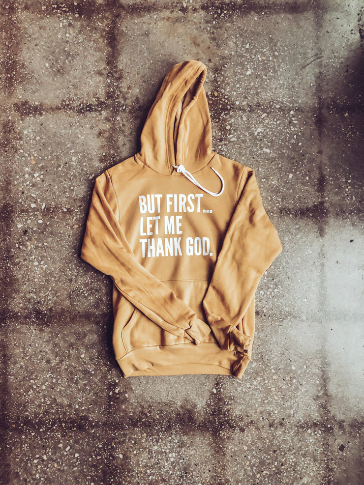 But First... Adult Pullover