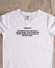 Jeremiah 29:11 Kids V-neck T-shirt