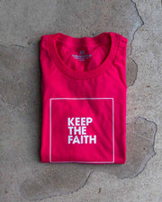 Keep The Faith Adult T-Shirt