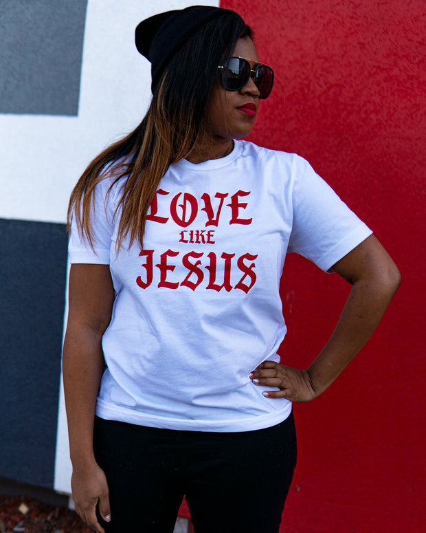 Love Like Jesus Adult T-Shirt