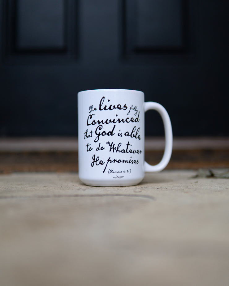 God Is Able 2pc Special (Sweatshirt + Mug)