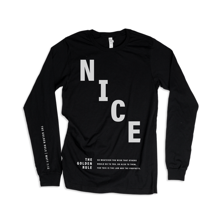 NICE: The Golden Rule Adult L/S