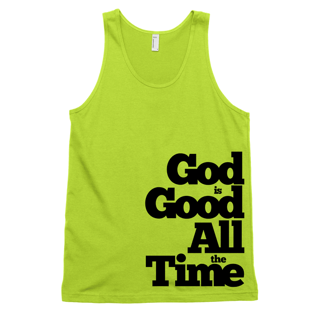 God is Good Tank - Beacon Threads - 2T / Neon Yellow - 2