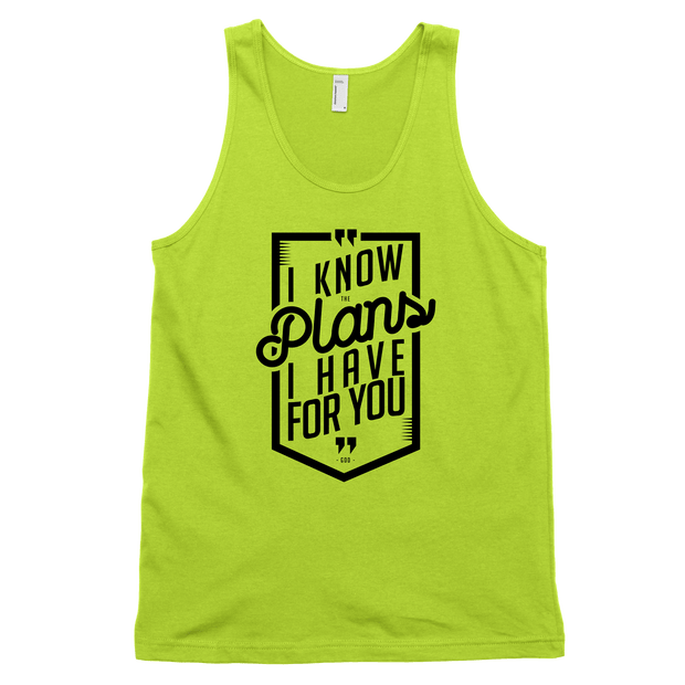 I Know The Plans Tank - Beacon Threads - 2T / Neon Yellow - 2