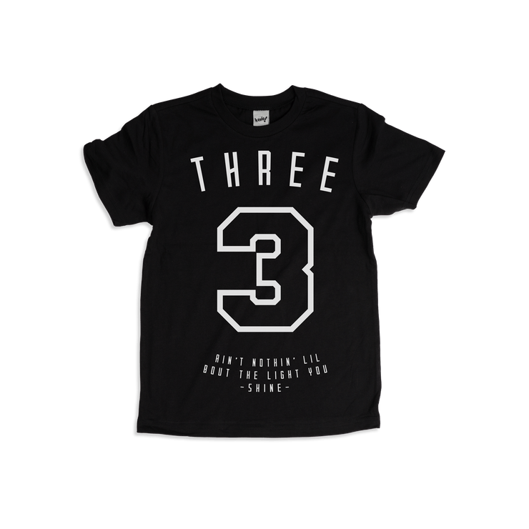 Kid's Number T-shirt