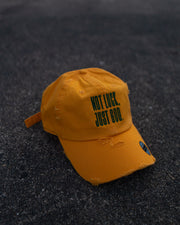 Not Luck, Just God. Adult Dad Hat (Distressed)