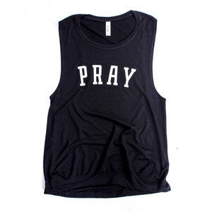 Pray Women's Muscle Tank