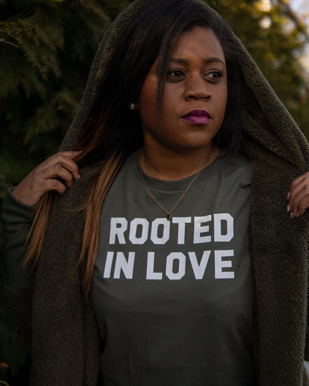 Rooted In Love Adult T-Shirt