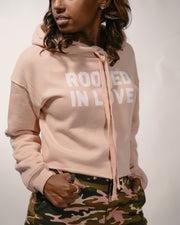 Rooted in Love Women's Cropped Fleece Hoodie