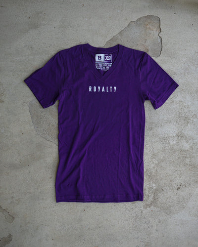 Royalty Adult V-neck T-shirt