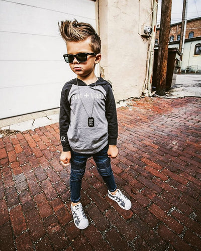 Salt + Light Kids Lightweight Hoodie