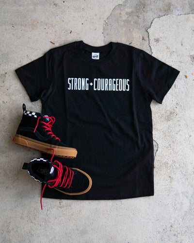 Strong + Courageous Kids T-shirt