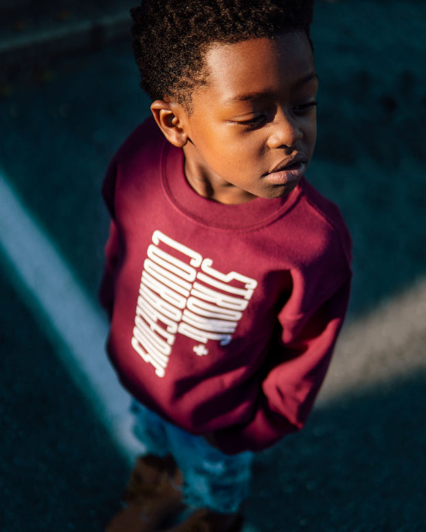 Strong + Courageous Kids Sweatshirt