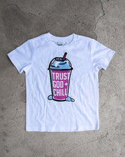 """SLURP"" Trust God + Chill Kids T-shirt"