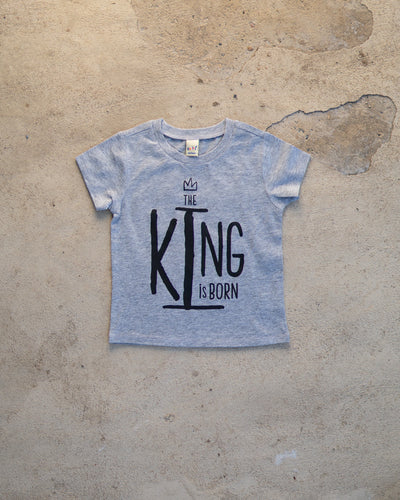 The King Is Born Infant T-shirt