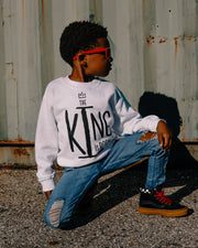 The King Is Born Kids Sweatshirt