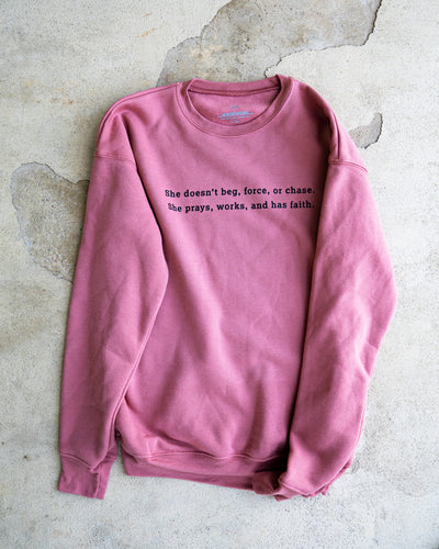 The Switch Up Adult Drop Shoulder Sweatshirt