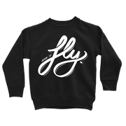 Born To Fly Sweatshirt - Beacon Threads - 2T / Black w/ White Lettering - 1