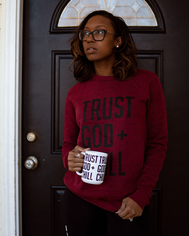 Trust God + Chill 2pc Special (Sweatshirt + Mug)