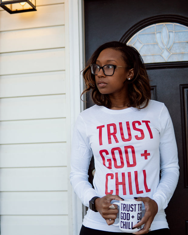 Trust God + Chill 2pc Special (L/S Shirt + Mug)