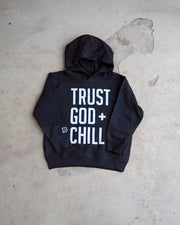 Trust God + Chill Kids Hoodie (Full Print)