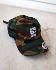 Trust God + Chill Adult Dad Hat