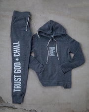Trust God + Chill Women's Pullover