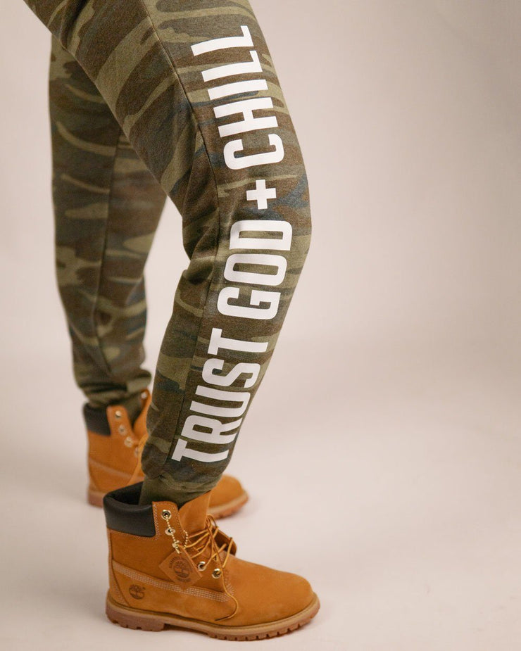 Trust God + Chill Adult/Unisex Sweatpants