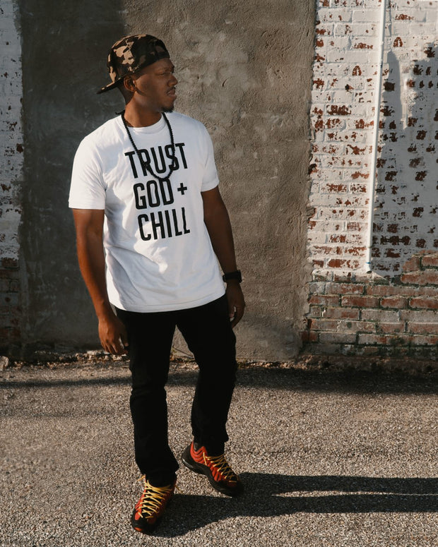 Trust God + Chill Adult T-Shirt