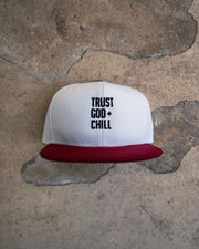 Trust God + Chill Kids Snapback