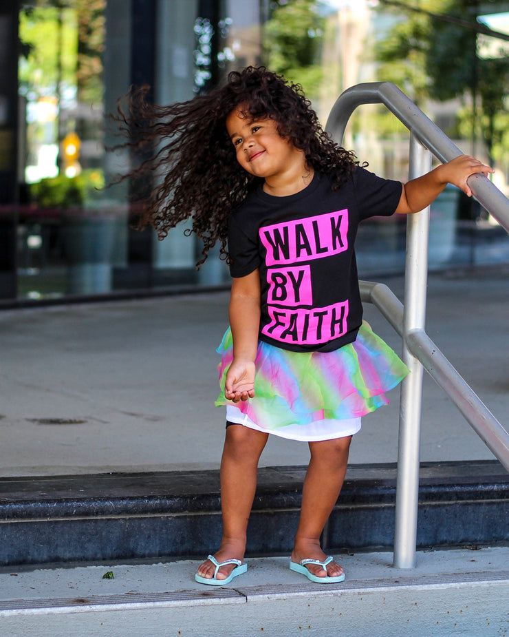 Walk By Faith Kids T-shirt