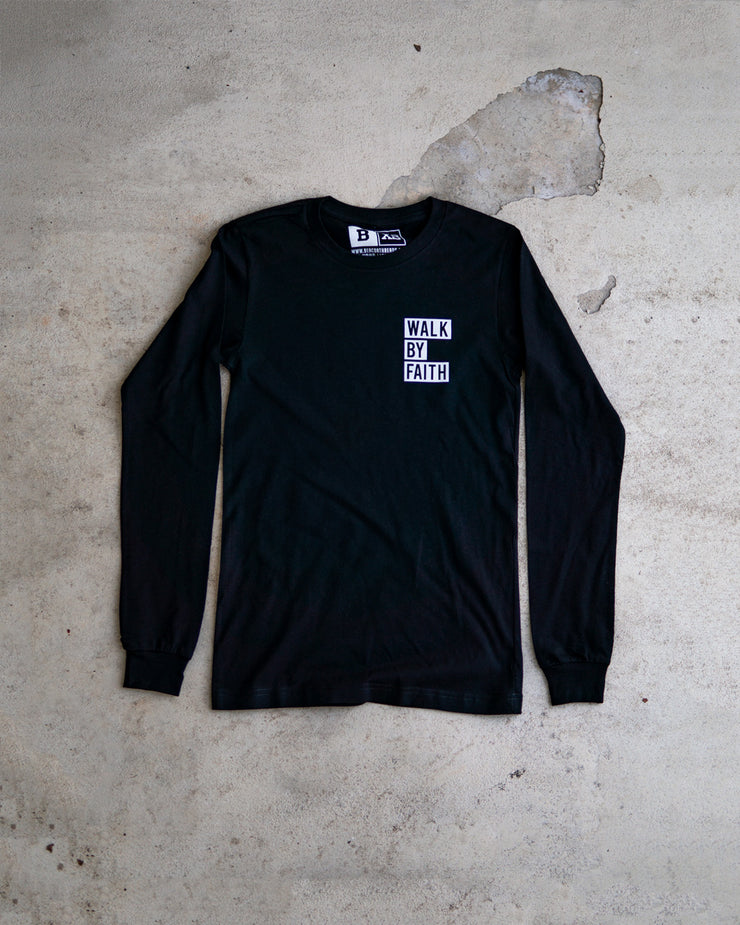 Walk By Faith Adult Pocket L/S Shirt