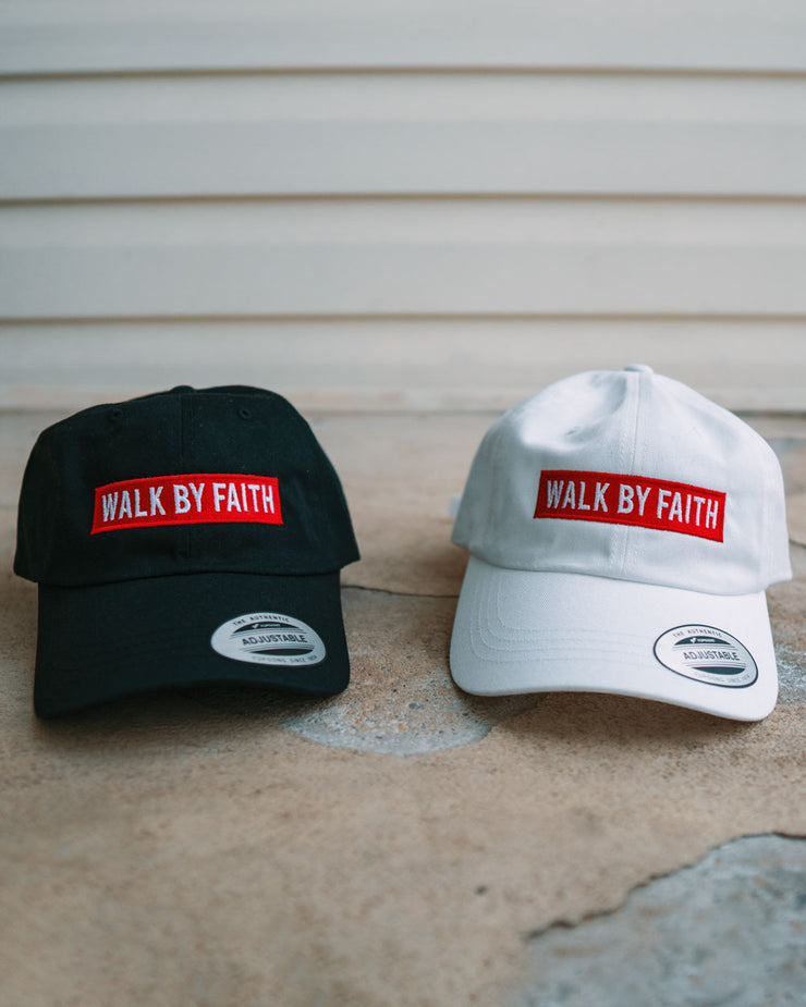 Walk By Faith Adult Dad Hat