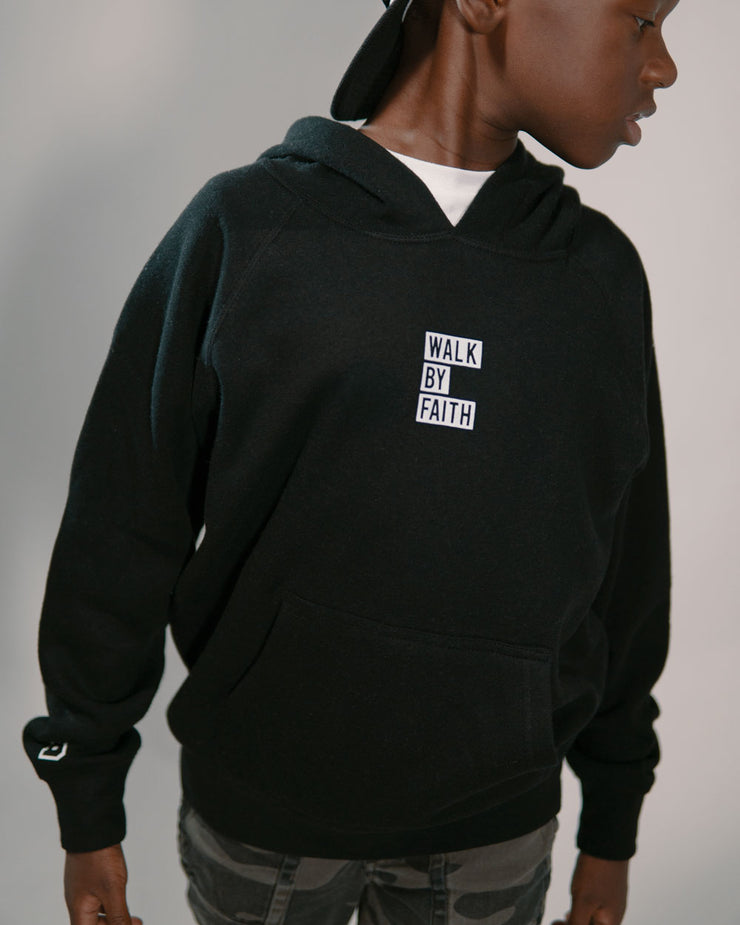 Walk By Faith Kids Hoodie