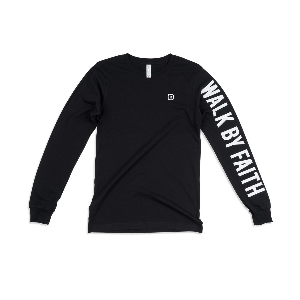 Walk By Faith Adult L/S Shirt