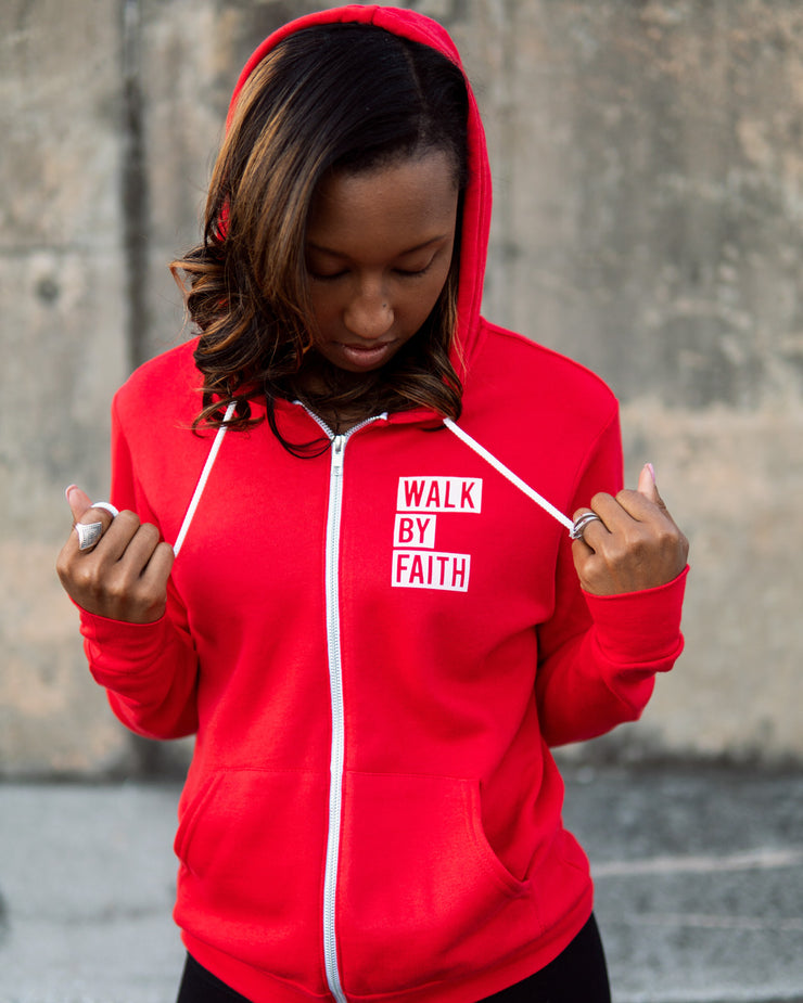 Walk By Faith Adult Full-Zip Hoodie
