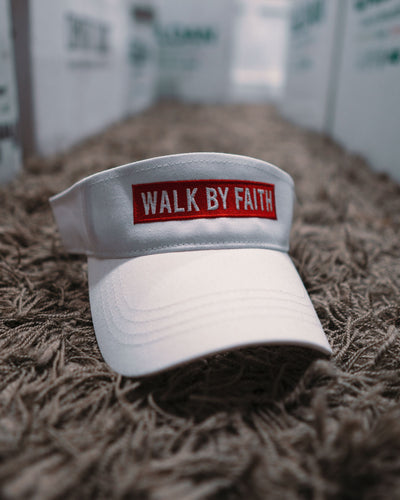 Walk By Faith Adult Visor