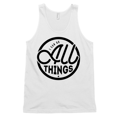 I Can Do All Things Tank - Beacon Threads - 2T / White - 1