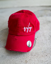 Wifey (Script) Adult Dad Hat (Distressed)