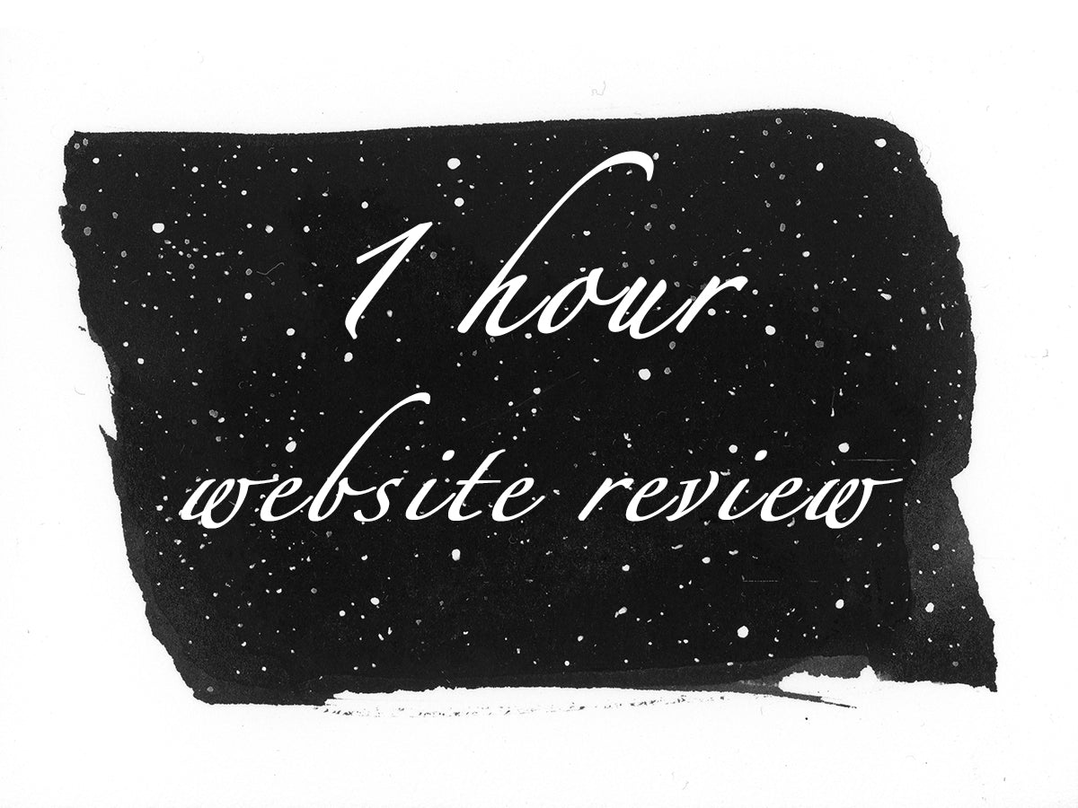 1 hour website review