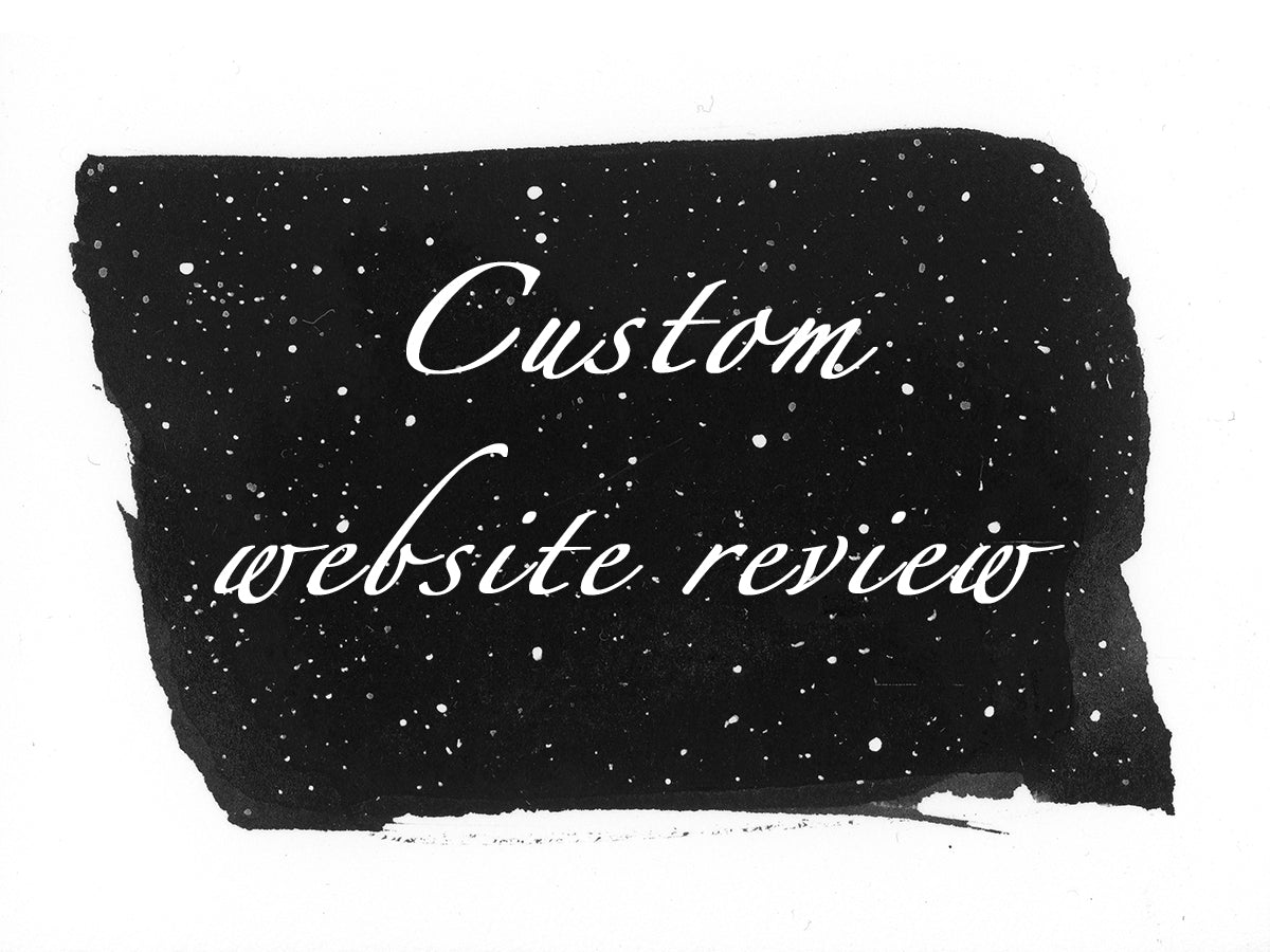 custom website review