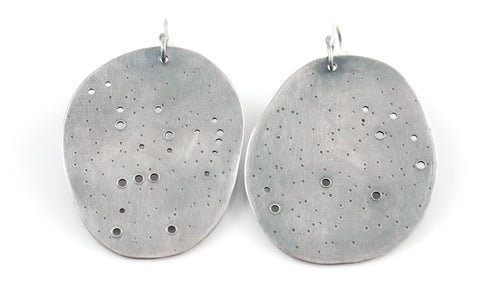 Constellation Earrings in Sterling Silver - Custom Order - Beth Cyr Handmade Jewelry